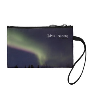 Northern Lights with a Streak of Purple; Yukon Coin Purses