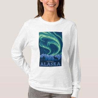 Northern Lights - Wrangell, Alaska T-Shirt