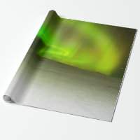 Northern Lights Wrapping Paper