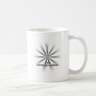Northern Mariana Flag Map 2.0 Coffee Mug