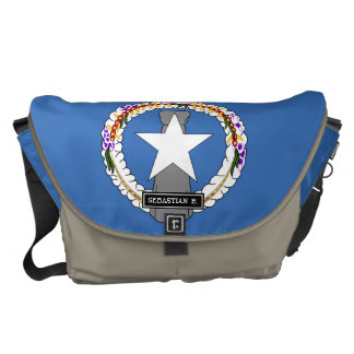 Northern Mariana Islands Flag Courier Bag