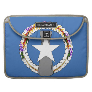 Northern Mariana Islands Flag Sleeve For MacBooks