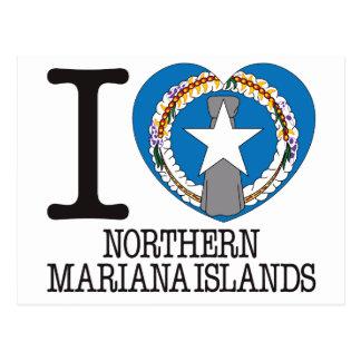 Northern Mariana Islands Love v2 Postcard