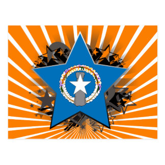 Northern Mariana Islands Star Postcard