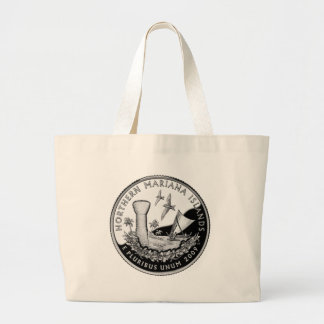 Northern Mariana Islands state quarter Canvas Bags