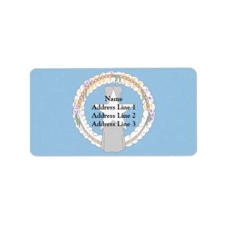 Northern Mariana Islands, United States Address Label