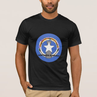 Northern Mariana Roundel quality Flag T-Shirt