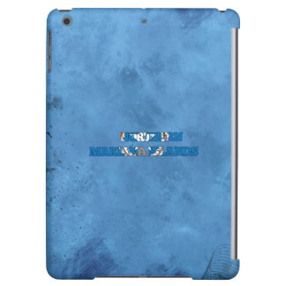 Northern Marianan name and flag on cool wall Cover For iPad Air