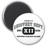 NORTHERN MARIANAS ISLANDS Recovery Refrigerator Magnets