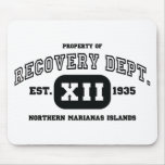 NORTHERN MARIANAS ISLANDS Recovery Mousepad
