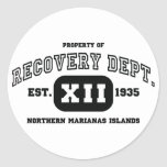 NORTHERN MARIANAS ISLANDS Recovery Sticker