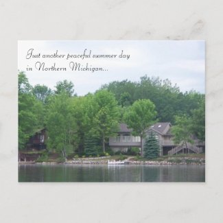Northern Michigan Postcard postcard