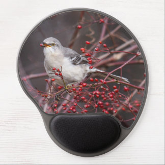 Northern Mockingbird Gel Mouse Pad