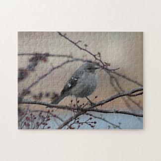 Northern mockingbird jigsaw puzzle