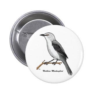 NORTHERN MOCKINGBIRD PIN