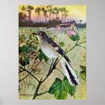 Northern Mockingbird Poster