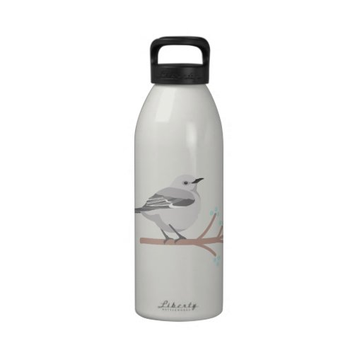 Northern Mockingbird Reusable Water Bottle