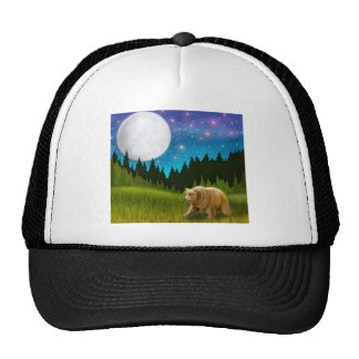 Northern Moon Grizzly Hat