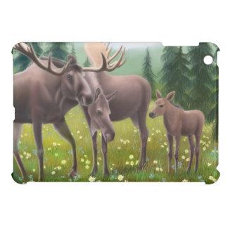 Northern Moose Family iPad Mini Case