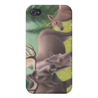 Northern Moose Family Speck Case