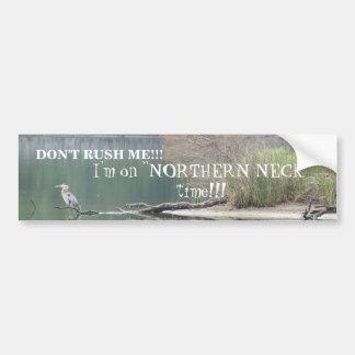 Northern Neck Bumper Sticker