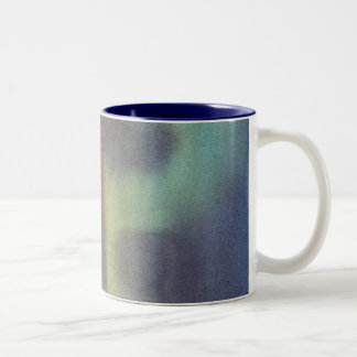 NORTHERN NIGHT SKY by SHARON SHARPE Two-Tone Coffee Mug