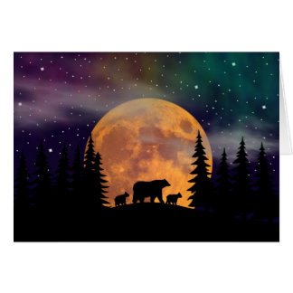 Northern Nights - Northern Lights Greeting Card