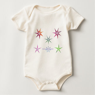 Northern Nordic Star Baby Bodysuit