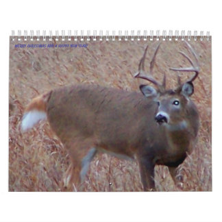 Northern North Dakota Deer Pictures Calendar
