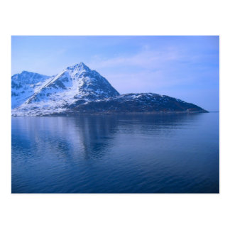 Northern Norway, entrance to a fijord Postcard
