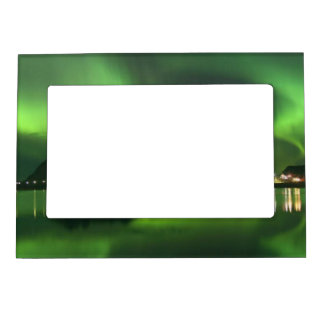 Northern Norway Lights - 5x7 Magnetic Frame