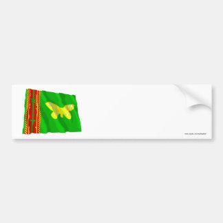 Northern (Oro) Province Waving Flag Bumper Sticker