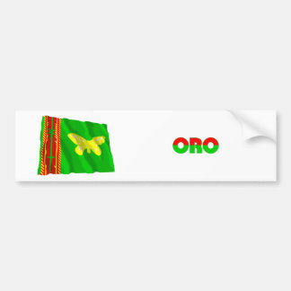Northern (Oro) Province Waving Flag Bumper Stickers