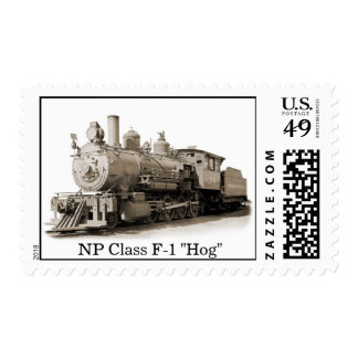 Northern Pacific Ry 2-8-0 #70 Postage
