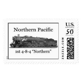 Northern Pacific Ry.  No. 2600 Postage