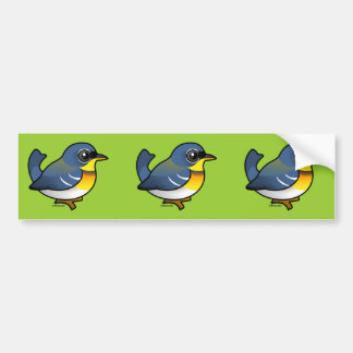 Northern Parula Bumper Sticker