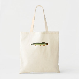 Northern Pike Canvas Bags