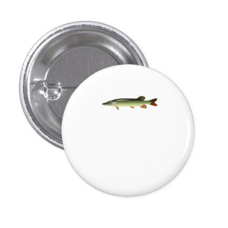 Northern Pike Pinback Buttons
