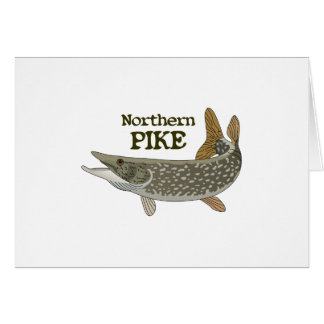 Northern Pike Greeting Card