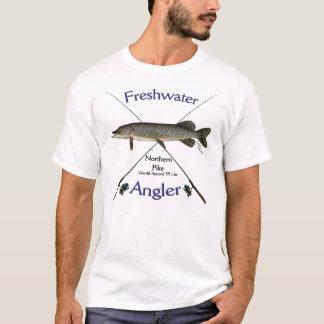 Northern Pike Freshwater angler fishing Tshirt. T-Shirt
