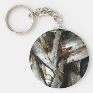 Northern Pike Minnow Fish Key Chain
