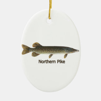 Northern Pike (titled) Ornament