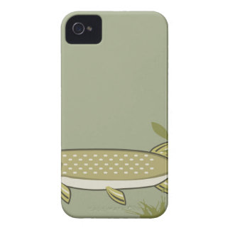 Northern Pike Vector iPhone 4 Case-Mate Case