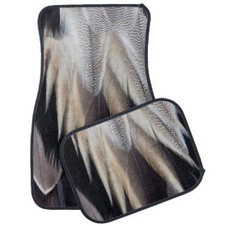 Northern Pintail Duck feather Car Floor Mat