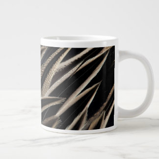 Northern Pintail Duck Feathers Large Coffee Mug