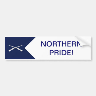Northern Pride Bumper Sticker Car Bumper Sticker