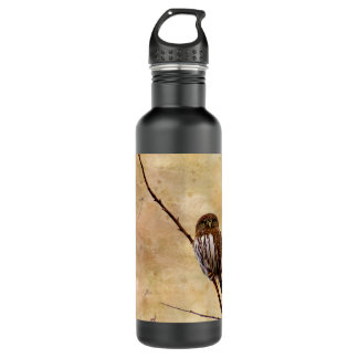 Northern Pygmy Owl Water Bottle