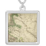 Northern Ross, Cromarty Shires Square Pendant Necklace