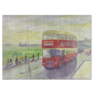 Northern Routemaster Bus Chopping board