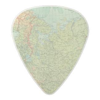 Northern Russia & Finland Acetal Guitar Pick
